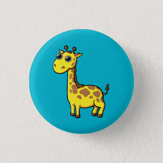 Animated Giraffe Button