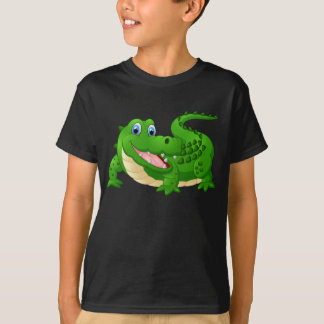 Animated Happy Crocodile T-Shirt