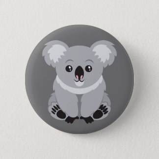 Animated Koala Bear Button
