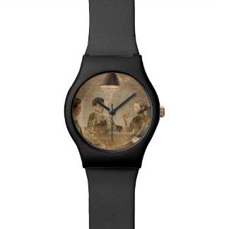 "Animated ""Last Man, Last Round"" Wrist Watches"