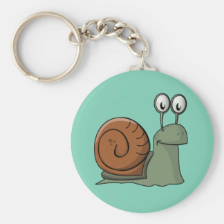 Animated Snail Keychain