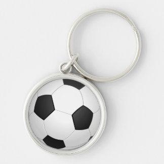 Animated Soccer Ball Keychain