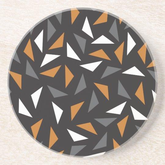 Animated triangles coasters