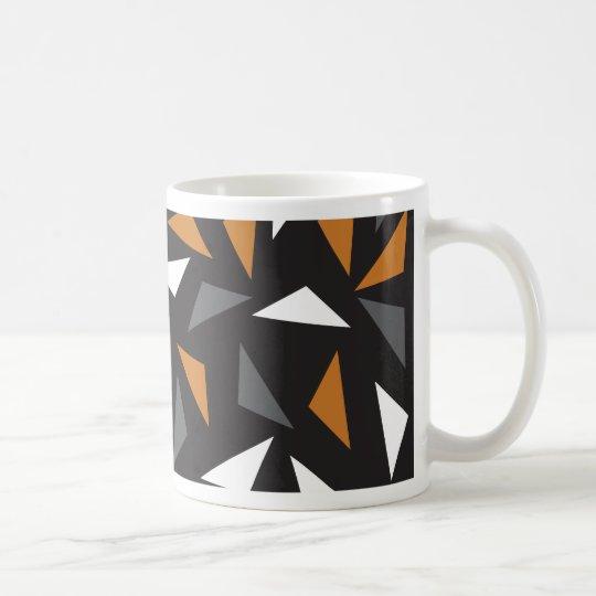 Animated triangles coffee mug