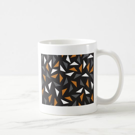 Animated triangles coffee mug