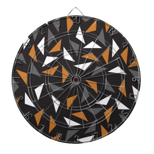 Animated triangles dart board