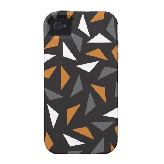 Animated triangles iPhone 4 case