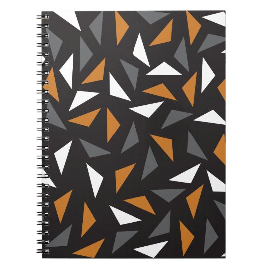 Animated triangles notebook