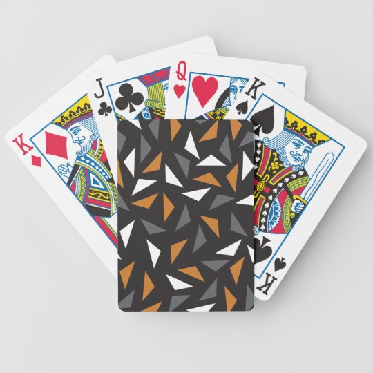 Animated triangles poker deck