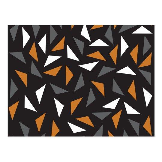 Animated triangles postcard