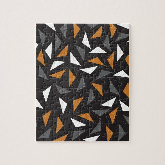 Animated triangles puzzles