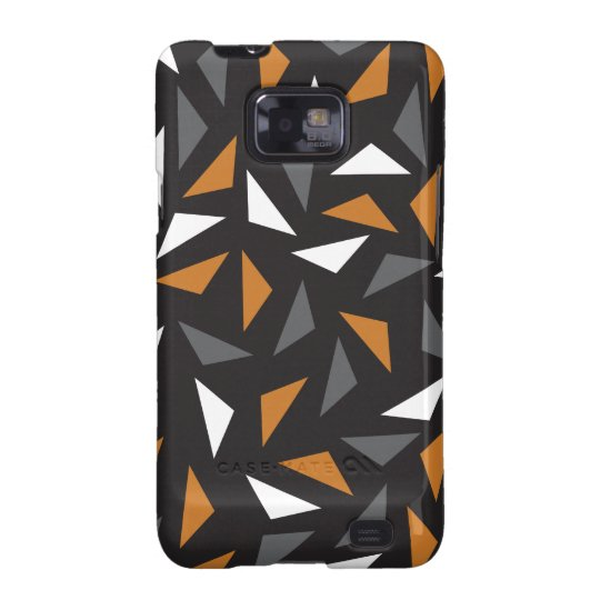 Animated triangles samsung galaxy SII covers