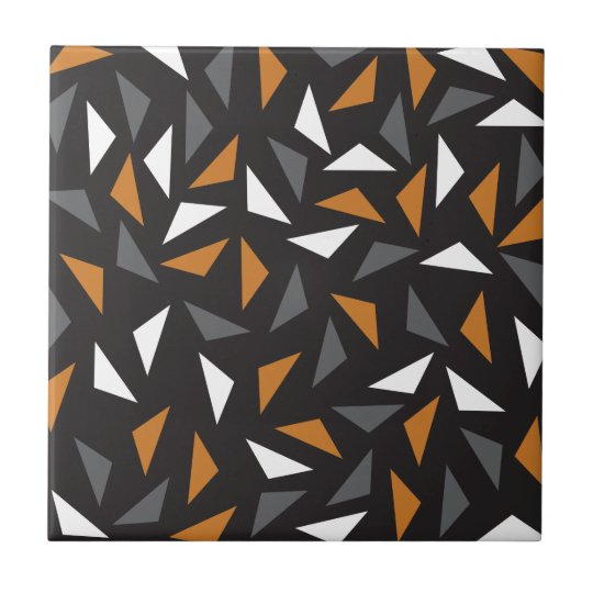 Animated triangles small square tile
