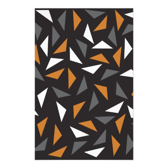 Animated triangles stationery