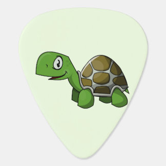 animated turtle guitar pick