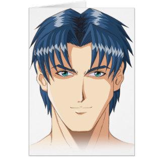 Anime and Manga Faces Card