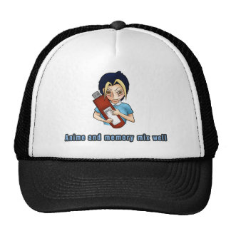 Anime and memory mix well hats