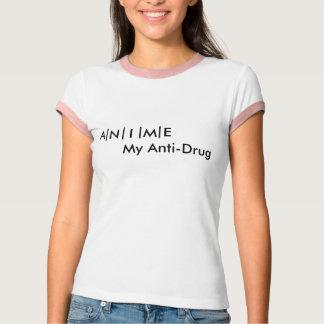 Anime Anti-Drug T-Shirt