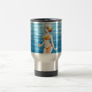 Anime Bikini Girl Travel Mug