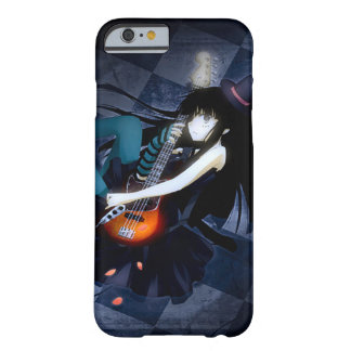 Anime Blues Fantasy Girl Watercolor Art iPhone Barely There iPhone 6 Case