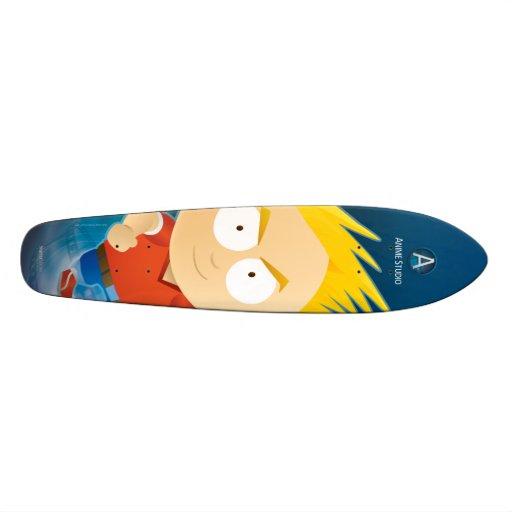 """Anime Boy - 7 1/8"""" Skateboard"""