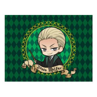 Anime Draco Malfoy Postcard