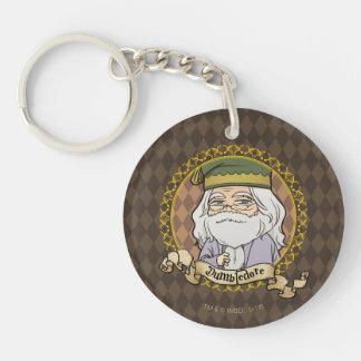 Anime Dumbledore Key Ring