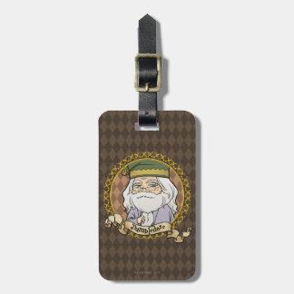 Anime Dumbledore Luggage Tag