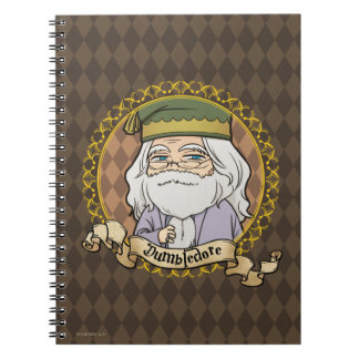 Anime Dumbledore Notebook