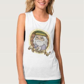 Anime Dumbledore Portrait Singlet