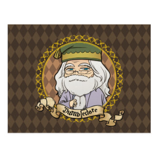 Anime Dumbledore Postcard