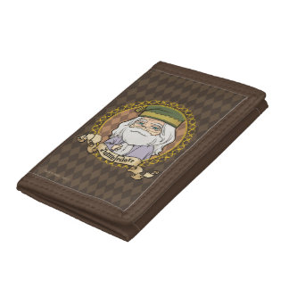 Anime Dumbledore Tri-fold Wallets