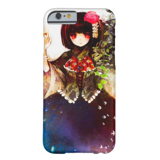 Anime Fantasy Spirit Girl Watercolor Art Barely There iPhone 6 Case