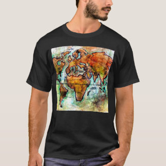 Anime Fantasy World Map Graphic Tee