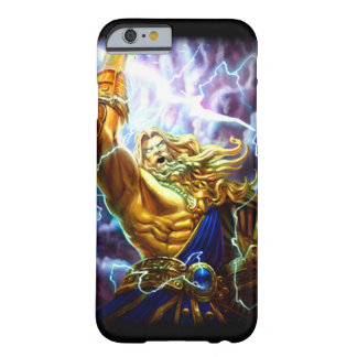 Anime Fantasy Zeus Warrior Custom Dark iPhone Barely There iPhone 6 Case