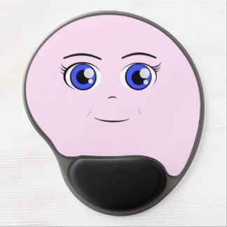 Anime Girl Gel Mouse Pad