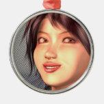 anime girl ornament