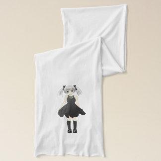 Anime girl scarf