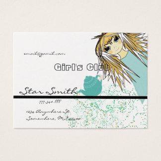 Anime Girl's Club - - Customized Business Card