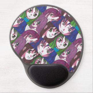 Anime Girls Mouse Mat Gel Mouse Pad
