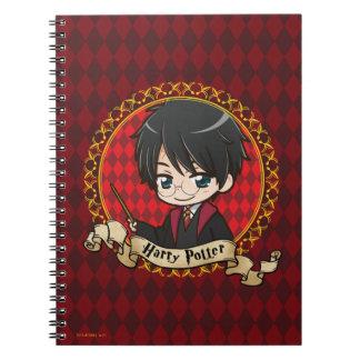 Anime Harry Potter Notebook