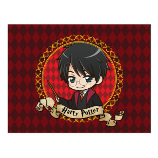 Anime Harry Potter Postcard