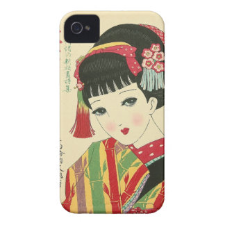 Anime Japanese Beauty Blackberry Bold  Case-Mate C iPhone 4 Cover
