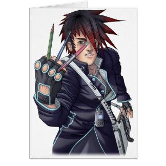 Anime Manga Artist Card