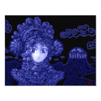 Anime / Manga Dark Gothic Princess Custom Invitations