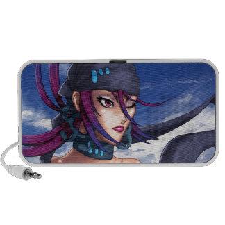 Anime Pirate Porthole Mini Speakers