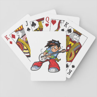 Anime Rock Star Playing Cards