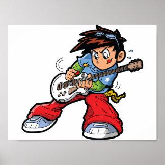 Anime Rock Star Poster
