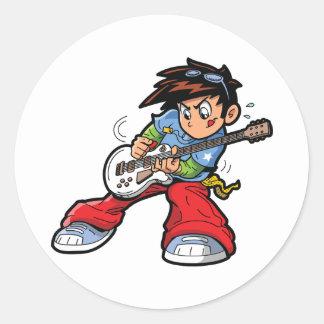 Anime Rock Star Stickers