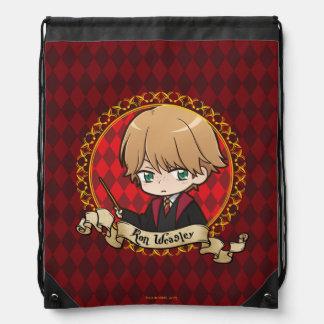 Anime Ron Weasley Drawstring Bag